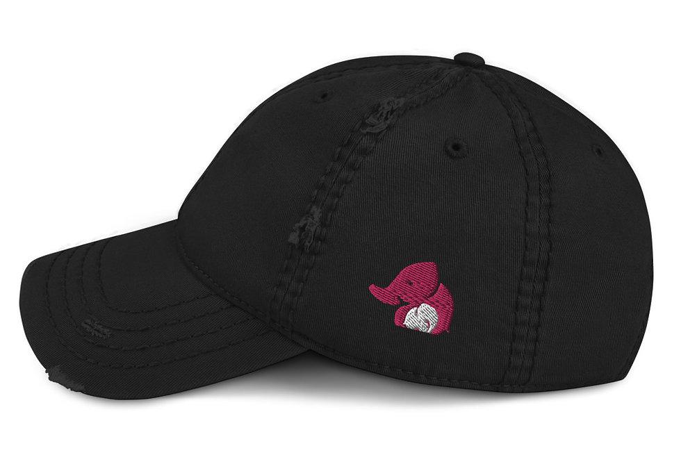 Elephant Distressed Hat