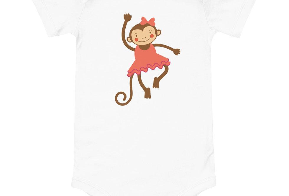 Baby dancing monkey one piece