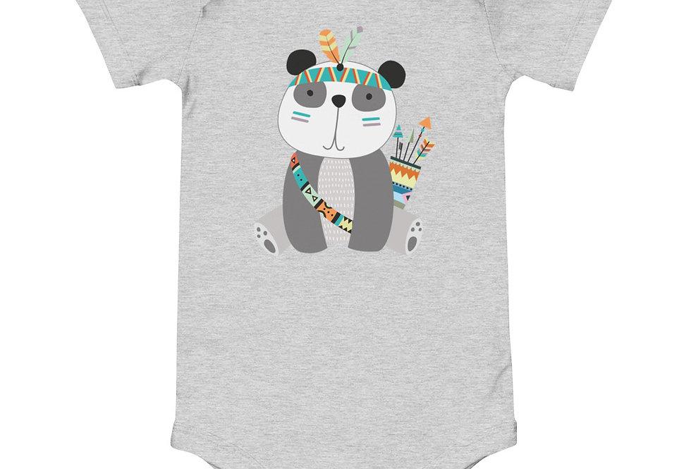Baby tribal panda one piece