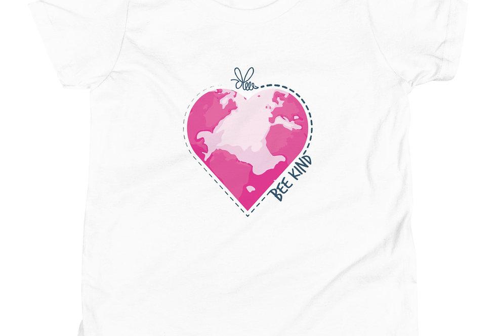 Pink Earth Sleeve T-Shirt