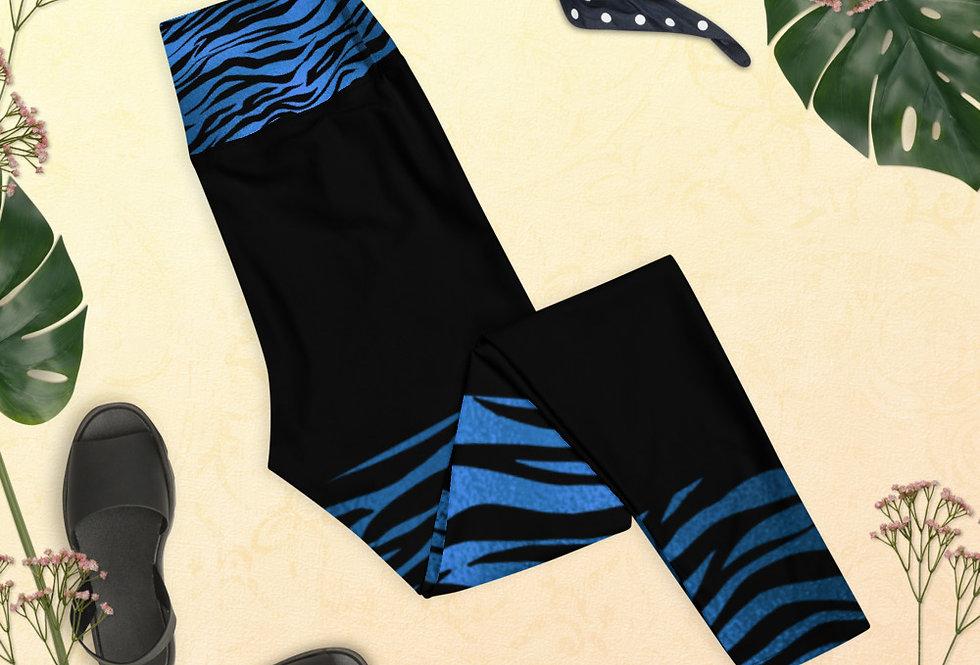 Blue tiger Leggings