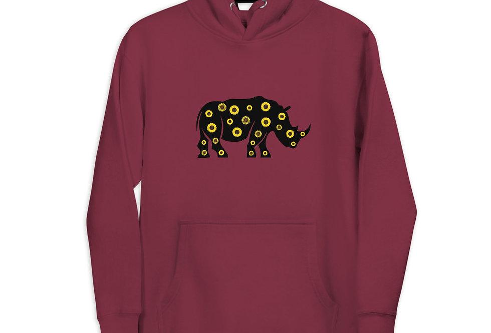 Sunflower Rhino Hoodie