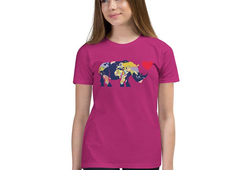 Kids World Rhino T-Shirt