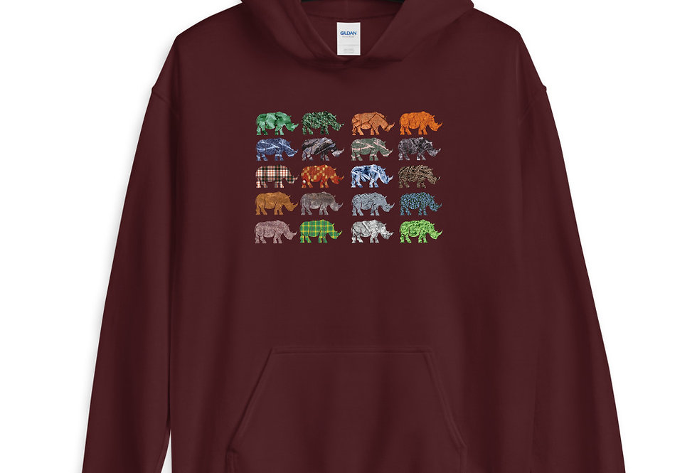Multi Rhino Hoodie