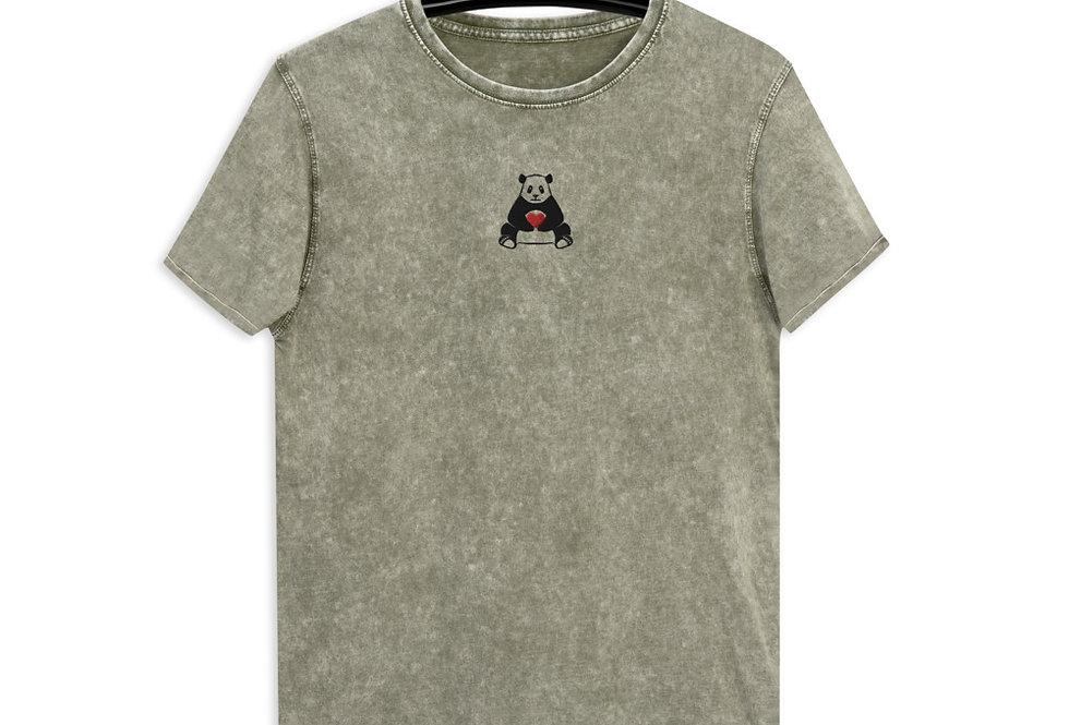 Panda Denim T-Shirt