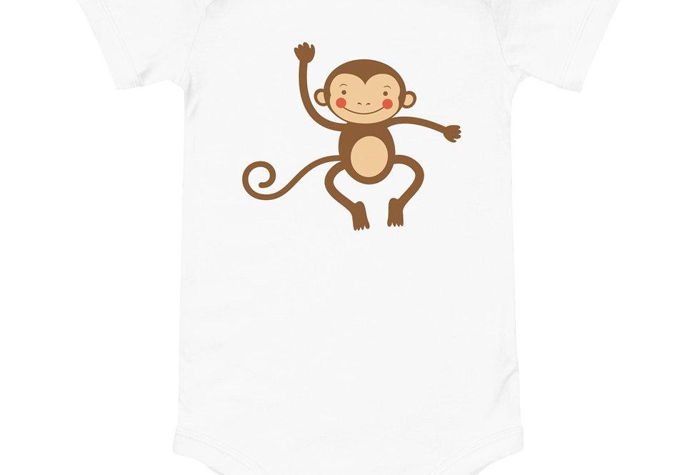 Baby Happy monkey one piece