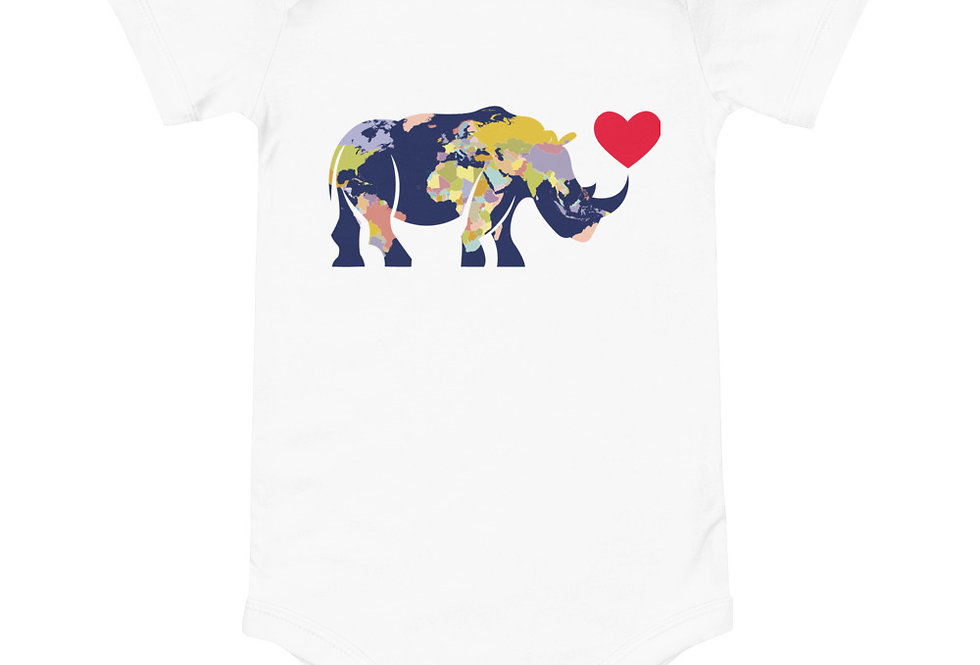 Baby Rhino World one piece