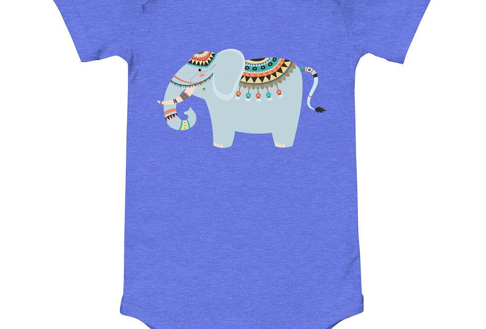 Baby tribal elephant one piece