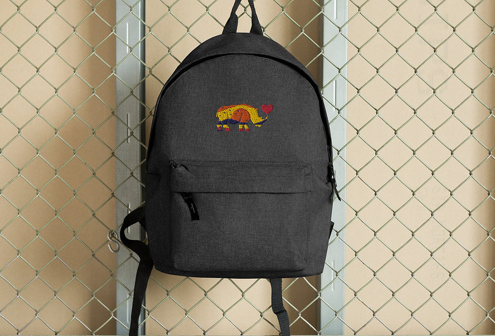 Sunset Rhino Backpack