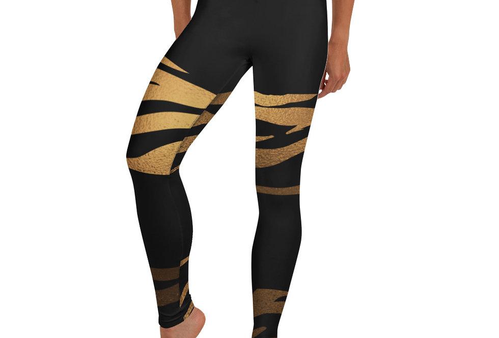 Tiger Gold Leggings