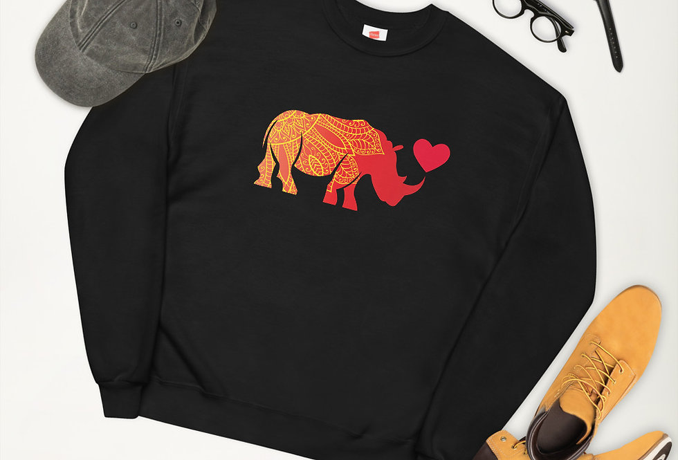 Indian Rhinocerous sweatshirt