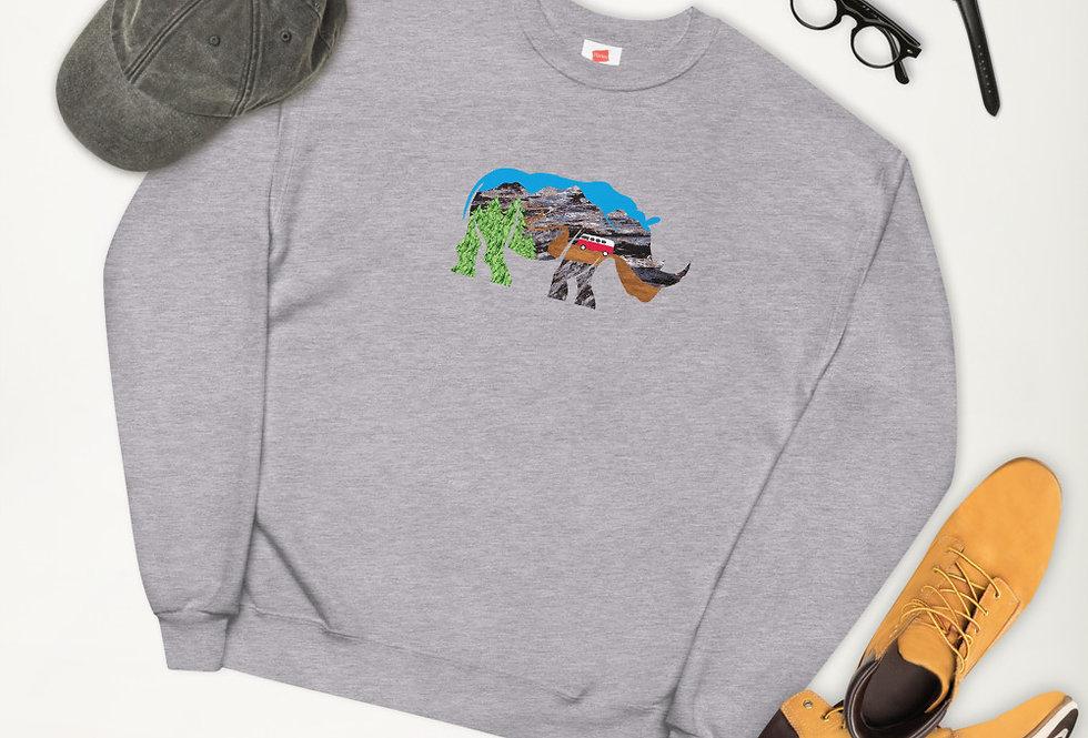 Adventure Rhino sweatshirt