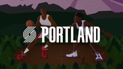Portland Trail Blazers Gameday Poster