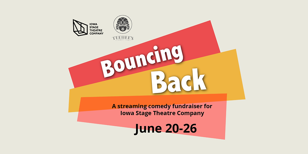 """""""Bouncing Back"""" A Comedy Fundraiser for ISTC"""