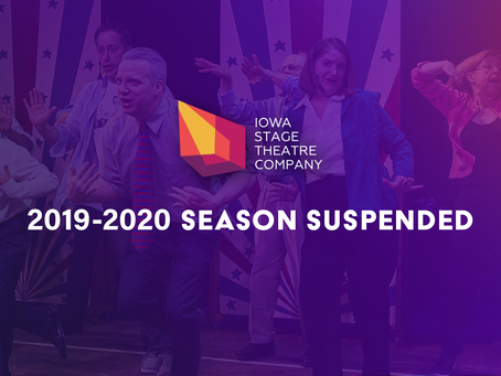 ISTC ANNOUNCES SUSPENSION OF 2019-2020 SEASON