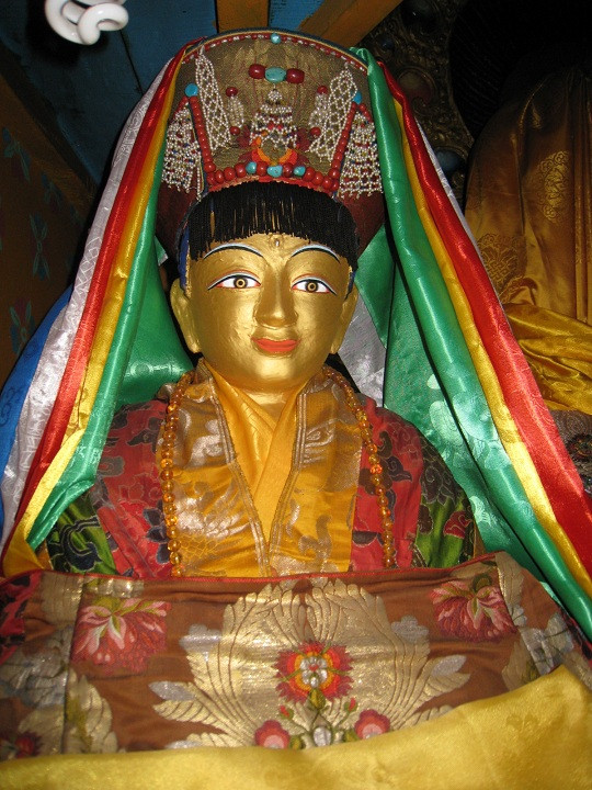 Statue of Milarepa