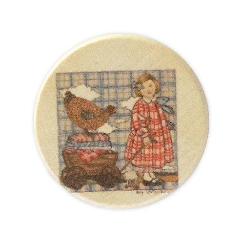 Boîte à dents en bois Alice