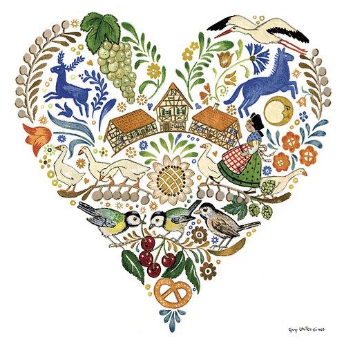 Carte Coeur d'Alsace