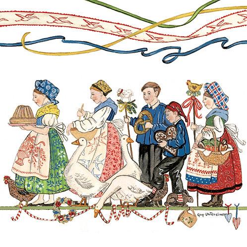 Carte Farandole alsacienne