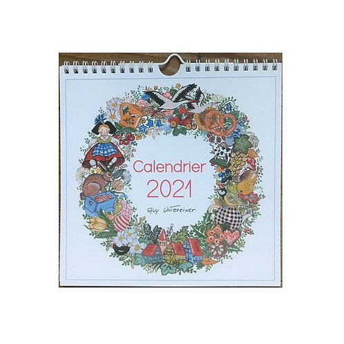 """Calendrier 2021 """"Saisons d'Alsace"""""""
