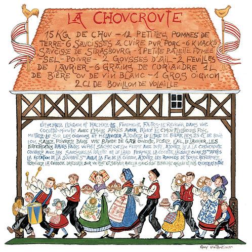 Carte Choucroute