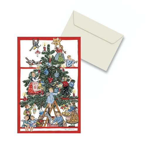 Carte double Bientôt Noël