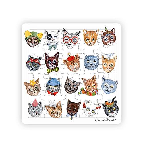 Puzzle Drôles de chats