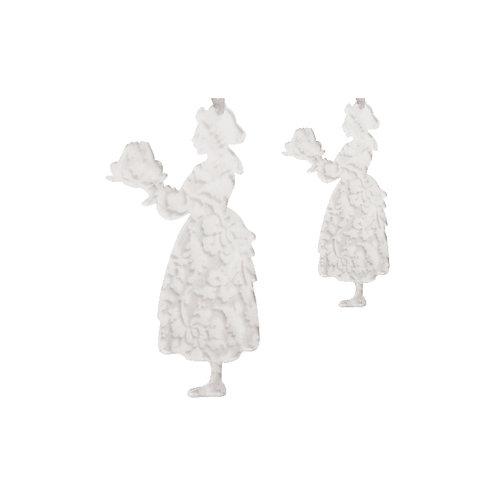 Alsacienne kougelhopf en plexi gravé, à suspendre - 2 tailles