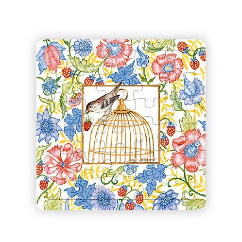 Puzzle Cage aux oiseaux