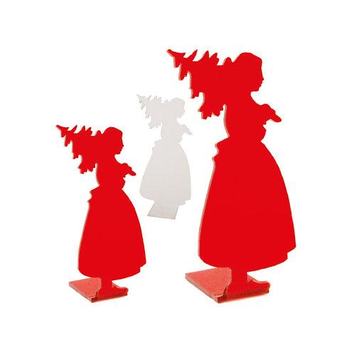 Alsacienne Sapin en plexi, à poser - 2 coloris et 3 tailles