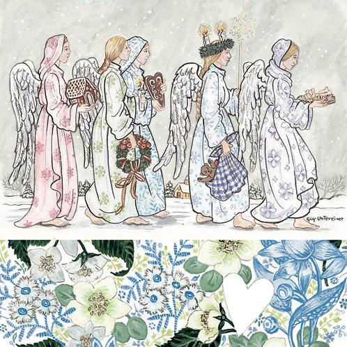 Carte Farandole d'anges