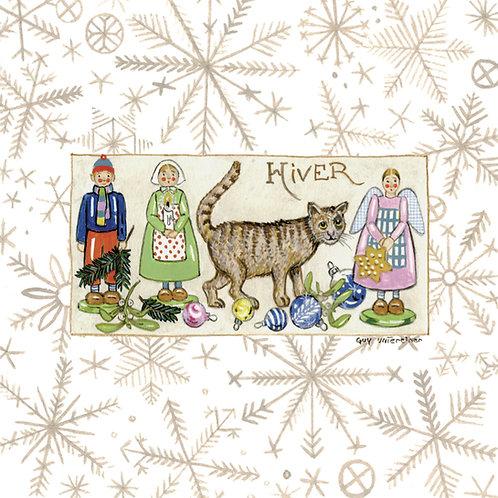 Carte 4 saisons Hiver