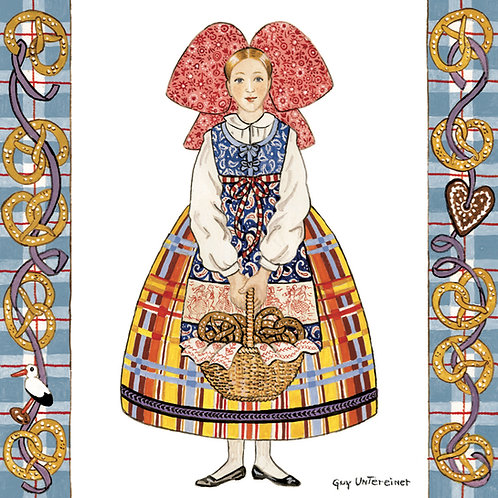 Carte Alsacienne bretzels