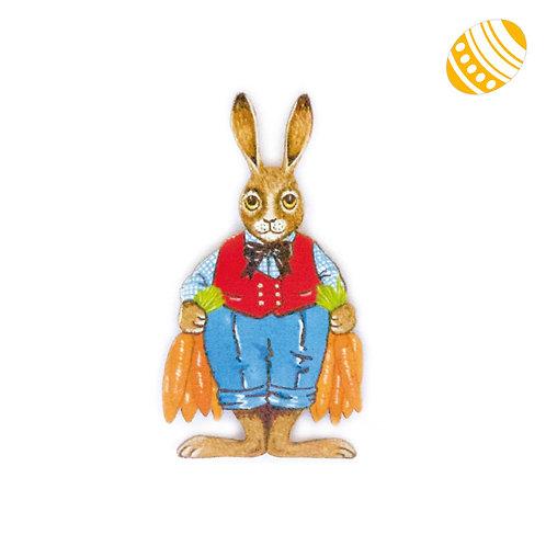 Magnet Lapin aux carottes