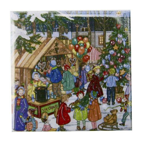 Magnet Marché de Noël