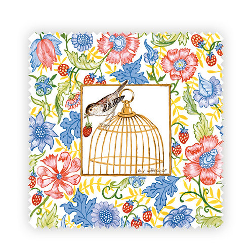 Cage aux fleurs