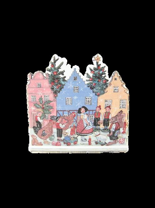 Noël villageois - 20 cm