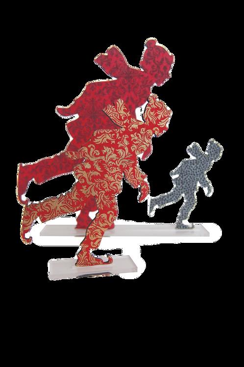 Garçon patineur