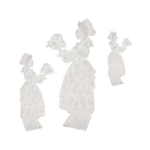 Alsacienne kougelhopf en plexi gravé, à poser - 3 tailles