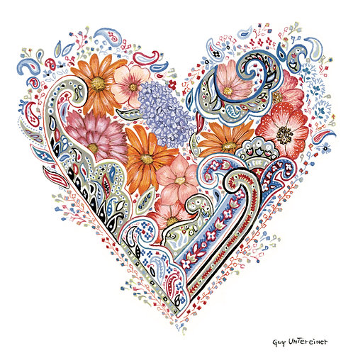 Carte Coeur de Printemps