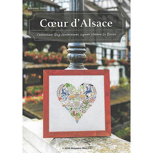 Grille de Point de Croix « Coeur d'Alsace »