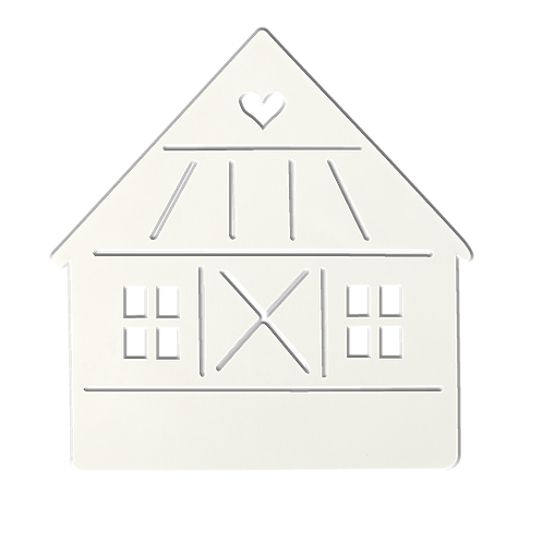 Maison au coeur