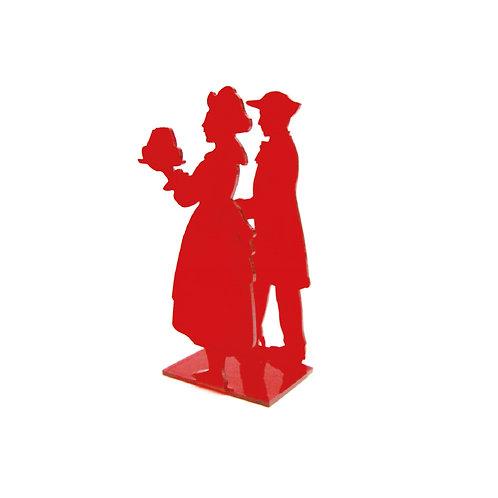 Porte serviettes Couple alsaciens - 2 coloris