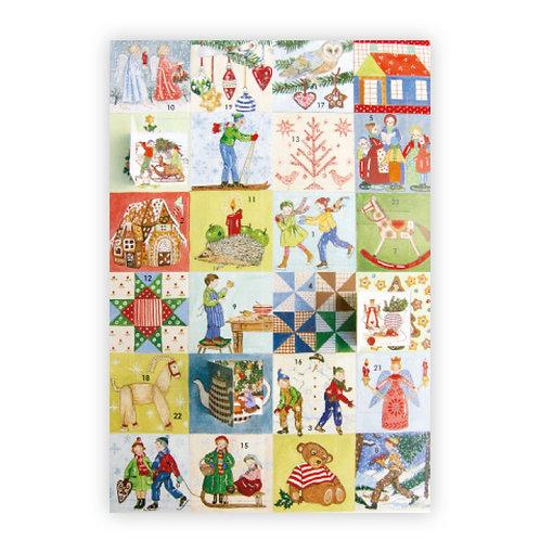 Calendrier de l'Avent Images de Noël
