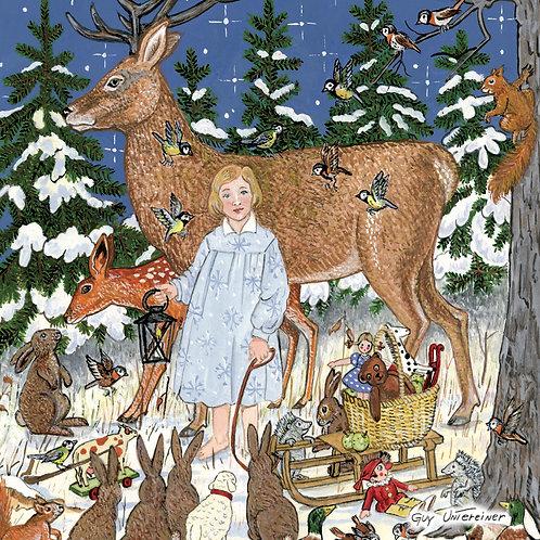 Carte Soir de Noël