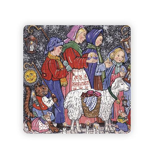 Puzzle Veillée de Noël