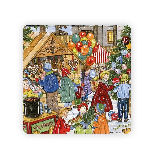 Puzzle Marché de Noël