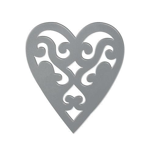 Dessous de plat Coeur ajouré - 2 coloris