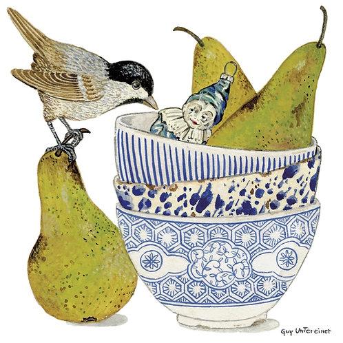 Oiseau aux poires