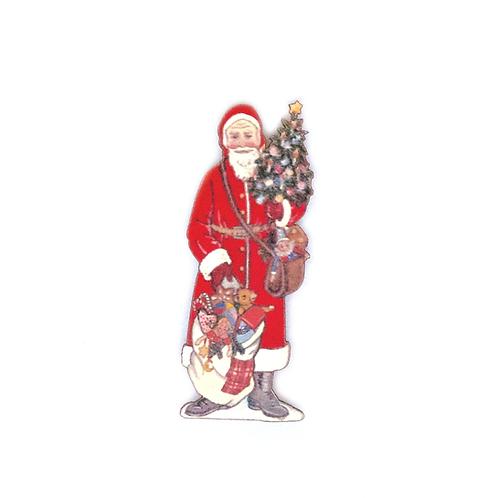 Magnet Père Noël au sapin
